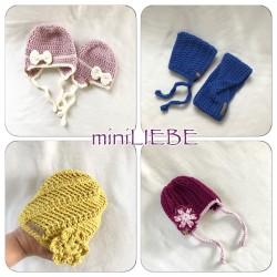 miniliebe Mützen für Babies und Neugeborene